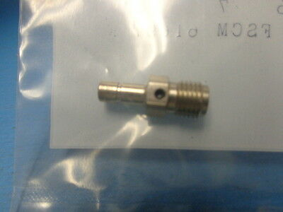 1) 5180-2240-00 MACOM TYCO SMB to SMA JACK ADAPTER CONNECTOR STAINLESS STEEL