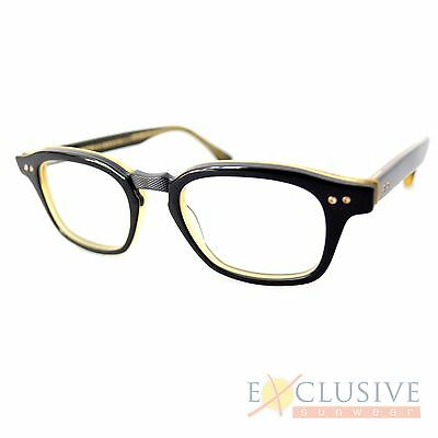 Dita Intelligente Drx-2050-D-Blk-Yel-Blk-48 Black-Vintage Yellow-Matte Black
