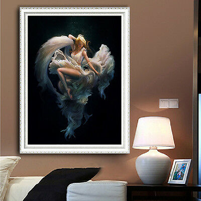 New 5D Dancing Girl DIY Diamond Draw Embroidery Painting Cross Stitch Kits Gifts