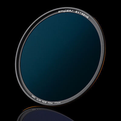 Rangers Extreme 2.6mm Ultra Slim ND8 52/58/67/72/77mm Neutral Density Filter