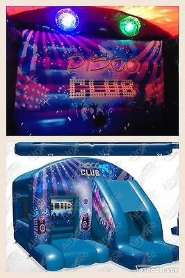 bouncy castle Hire Disco Bounce And Slide