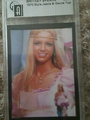 Britney Spears Ultra Rare Authentic Costume Cards