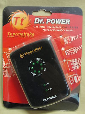 Dr. Power Thermaltake Power Supply Tester A2358 New In Package