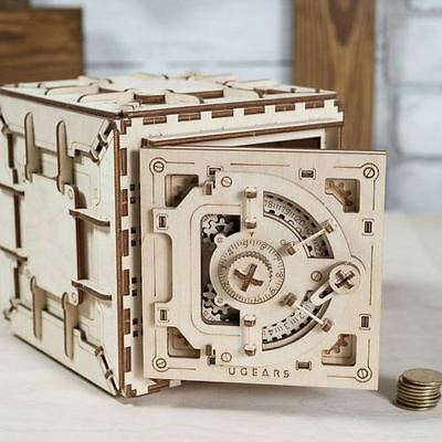 The SAFE UGEARS 3D Mechanical Wooden Model for self-assembly