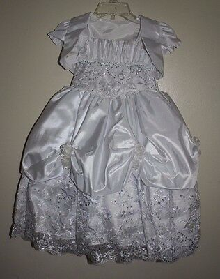 Baby Girls Baptism Dress.  Size 1.  6-12 Months