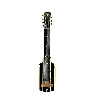 1939 National New Yorker Lap Steel Guitar Empire State in Case