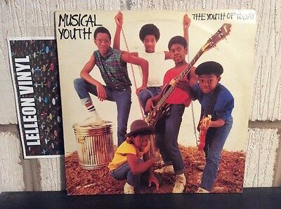 Musical Youth The Youth Of Today LP Album Vinyl YOULP1 MAPS10943 Reggae 80's