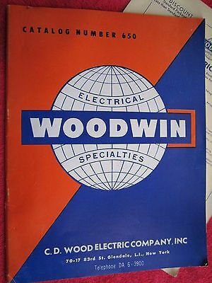 1953 Woodwin Electrical Specialties Catalog
