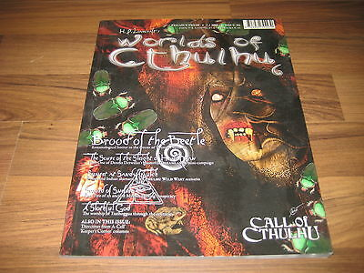 Call Of Cthulhu Worlds of Cthulhu Issue 6 Pegasus Spiele 2009 englisch Neu