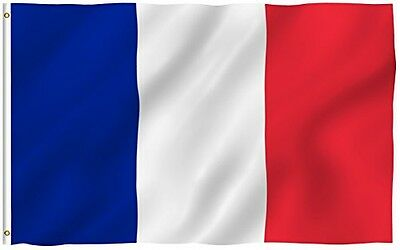 Flags Unlimited 3ft x 5ft France Flag - Polyester - 3x5 French Flag Poly