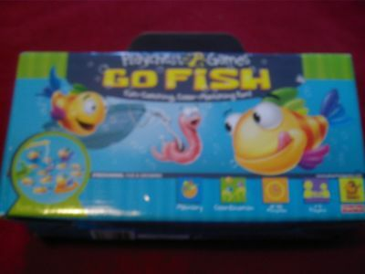 Fisher Price Go Fish Game catching color, matching. Mattel 2006 Complete EUC