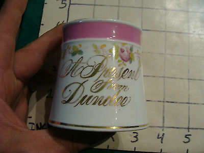 Original Vintage Childs cup/mug: A Present from Dundee Early Cup