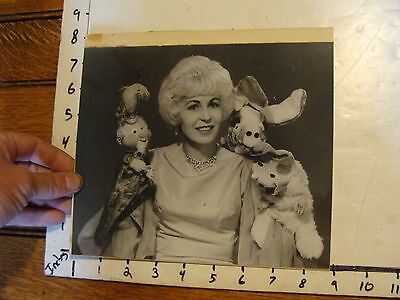 Vintage FAMOUS PUPPETEERS Photo: GENII perhaps ??