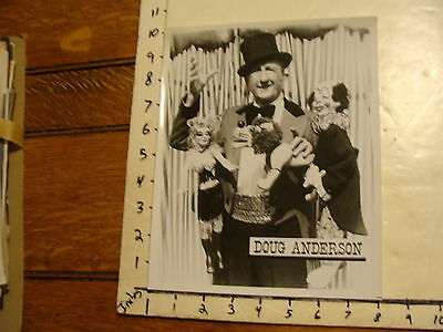 Vintage FAMOUS PUPPETEERS Photo: DOUG ANDERSON