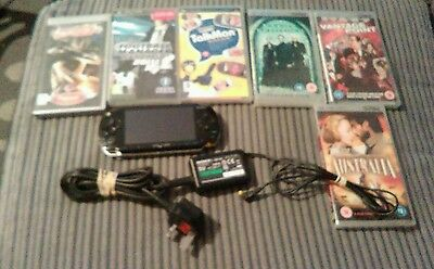 sony psp bundle with games sealed films
