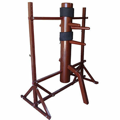 Brand New Traditional Wing Chun Wooden Dummy with SOLID WOODEN BODY