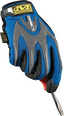 Mechanix Wear M-Pact Blue Gloves - Mmp-03 M, L - Great For Ford Fans!