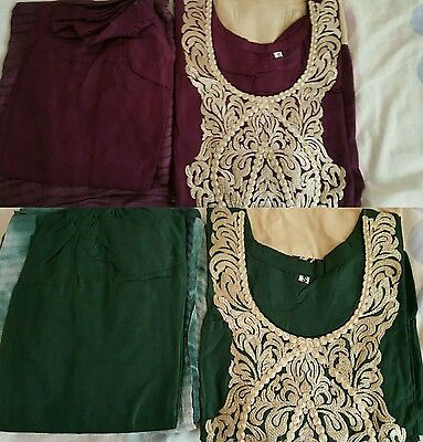 indian bollywood Pakistani ethnic designer  dress salwar kamez READY MADE