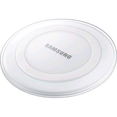 New PLUS QI Wireless Charger for Samsung Galaxy S6 S7 Edge Charging Pad WHITE UK