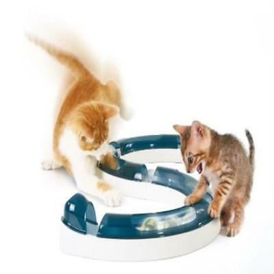 Catit Design Senses Cat Play Circuit Kitten Activity Track Chase Ball Toy