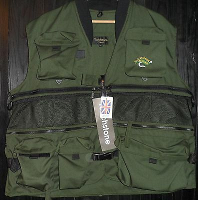 FINAL PRICE REDUCTION ...Touchstone Fly fishing Vest XXl approx 56in / 142cm