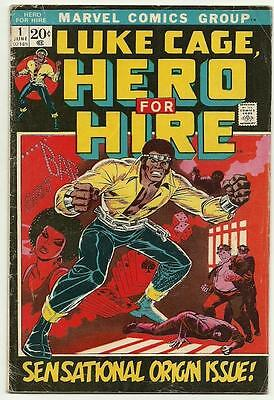 Luke Cage #1 Iron Fist First Appearance Marvel Premiere # 15 Lot