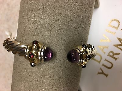 David Yurman New And Authentic 8 5mm Renaissance Amethyst Bracelet 2350