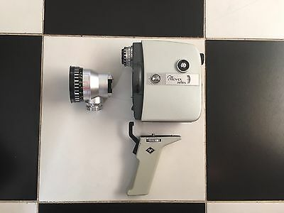 Vintage Agfa Movex Reflex 8mm Movie Camera with case