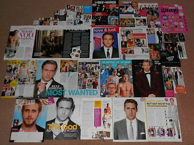 40+ RYAN GOSLING Magazine Clippings