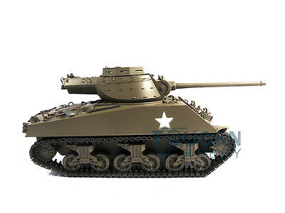 Mato 1/16 RC Tank 100% Metal M36B1 RTR Destroyer Infrared Recoil Army Green 1231