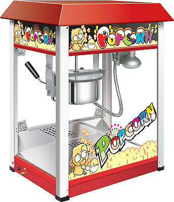 Brand New Red Commercial Electric 8 oz Popcorn Maker Machine Display
