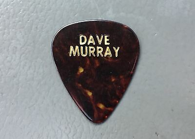Iron Maiden Dave Murray 1992 Vintage Guitar Pick