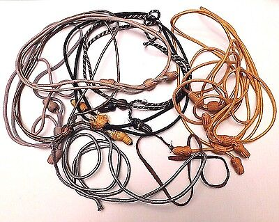 Ww1 Campaign Hat Cord Assortment - Original - 10 Pieces