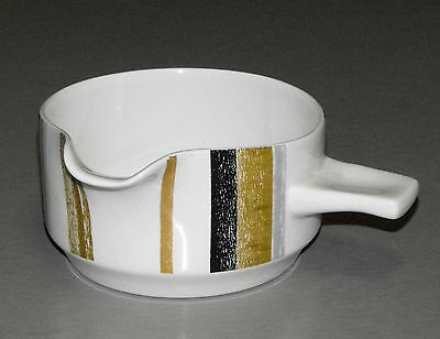 Retro MIDWINTER QUEENSBERRY SAUCE POT / GRAVY BOAT Made In England VINTAGE MCM