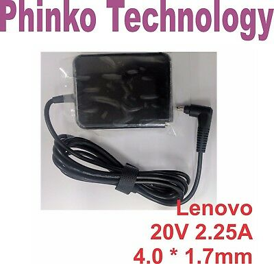 45W 20V 2-25A Power AC Adapter Charger for Lenovo Ideapad 110-15ACL