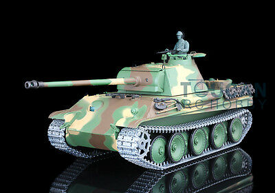 2.4Ghz HengLong 1/16 Scale German Panther G RTR RC Tank Upgraded Metal Ver 3879