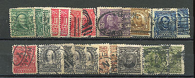 Small lot of Classic period U.S. used stamps