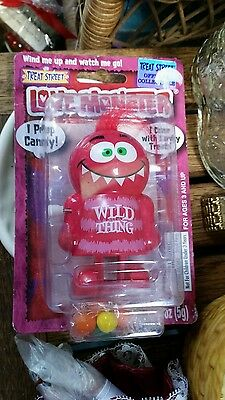 Treat Street Love Monster Wild Thing Pooper Wind Up Novelty Candy Dispenser, New
