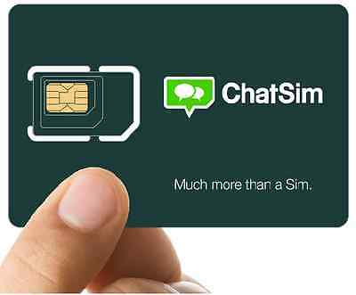 ChatSim Unlimited - 1yr unlimited chatting plan include!!