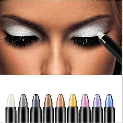 Eyeshadow Highlighter Pencil Cosmetic Glitter Eye Shadow Eyeliner - 10 Colours!
