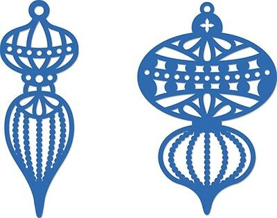 Kaisercraft Decorative Die - Ornate Baubles - for use in most cutting systems