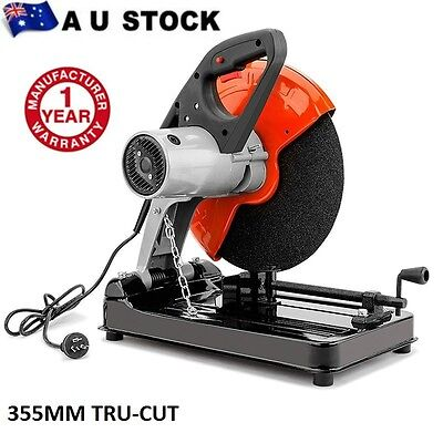 Drop Saw Metal Cut Off Saw Baumr-AG 355mm Electric Chop Demolition Industrial