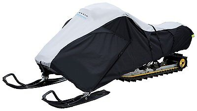 Classic Accessories 71837 SledGear Deluxe Snowmobile Travel Cover Fits two-perso