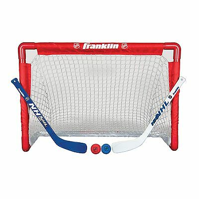 Franklin Sports NHL Street Hockey Goal, Stick and Ball Set