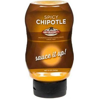 Arcobasso Spicy Chipotle Sauce, 12 Ounce -- 6 per case.