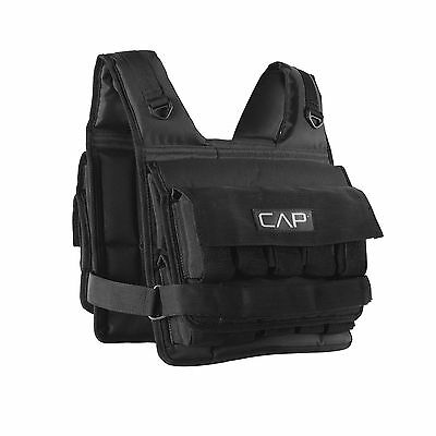 CAP Barbell Short Adjustable Weighted Vest, 20 lb