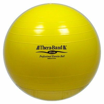 Thera-Band Standard Exercise Ball, Yellow, 45cm
