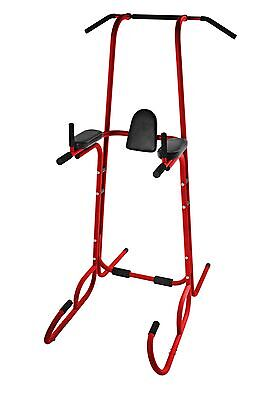 Stamina Power Tower Home Gym, Red