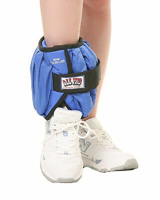 All Pro Weight Adjustable Ankle Weight, 20-Pound Individual, up to 20-lbs on One