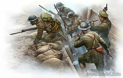 """Master Box 35114 """"British Infantry before the Attack""""  Scale 1/35"""